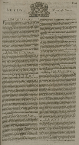 Leydse Courant 1725-03-07