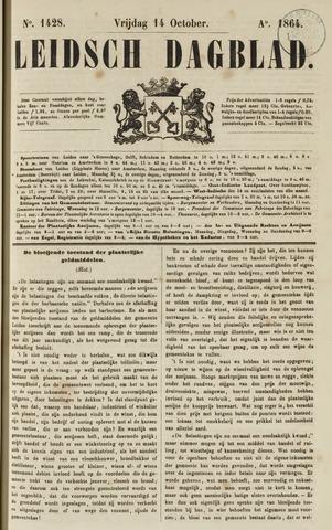 Leidsch Dagblad 1864-10-14