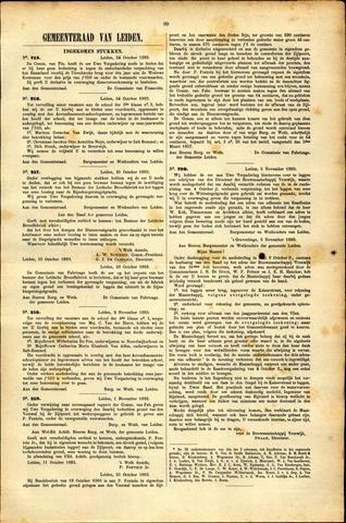Handelingen van de Raad 1883-10-24
