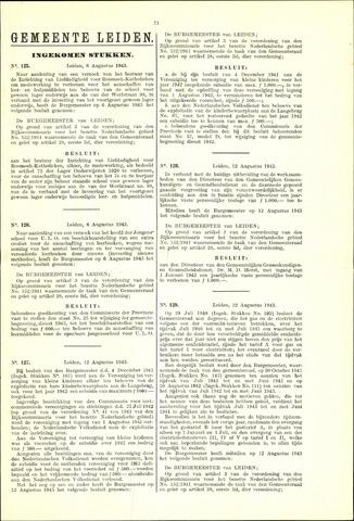 Handelingen van de Raad 1943-08-06