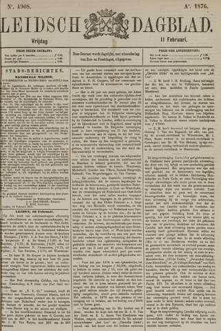 Leidsch Dagblad 1876-02-11
