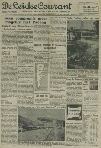 Leidse Courant 1958-02-25