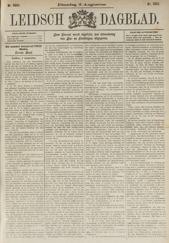 Leidsch Dagblad 1892-08-02