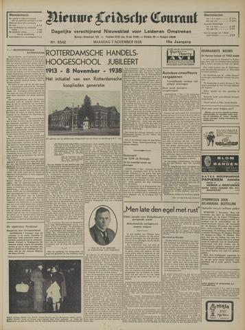 Nieuwe Leidsche Courant 1938-11-07