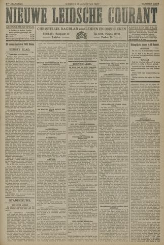 Nieuwe Leidsche Courant 1927-08-16