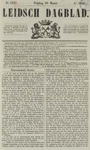 Leidsch Dagblad 1866-03-30