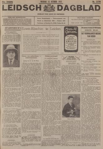 Leidsch Dagblad 1937-10-15