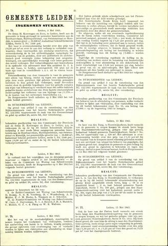 Handelingen van de Raad 1943-05-03