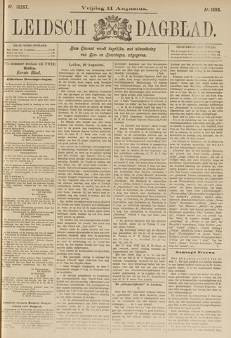 Leidsch Dagblad 1893-08-11