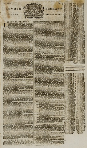 Leydse Courant 1811-01-11