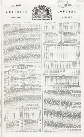 Leydse Courant 1839-03-11