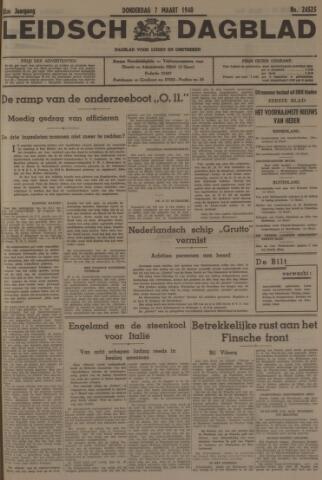 Leidsch Dagblad 1940-03-07