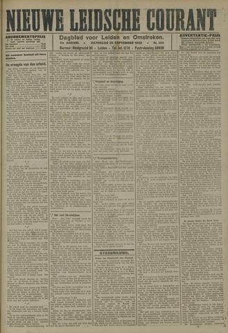 Nieuwe Leidsche Courant 1923-09-29