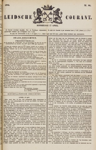 Leydse Courant 1884-04-17