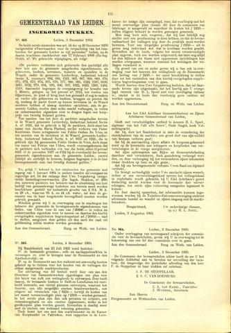 Handelingen van de Raad 1903-12-03