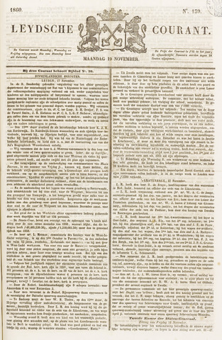 Leydse Courant 1860-11-19