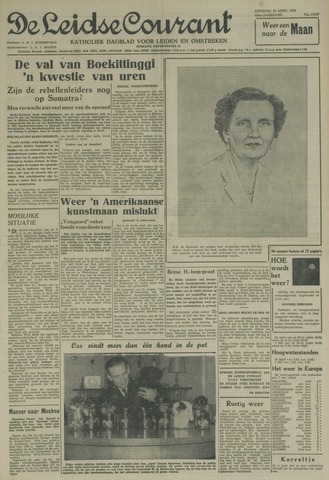 Leidse Courant 1958-04-29