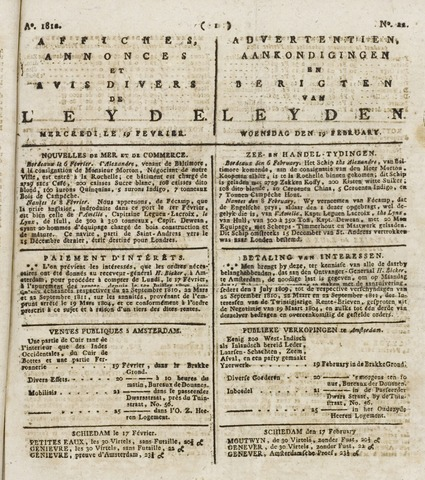 Leydse Courant 1812-02-19