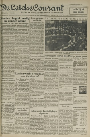 Leidse Courant 1954-04-28