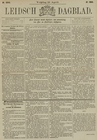Leidsch Dagblad 1890-04-11