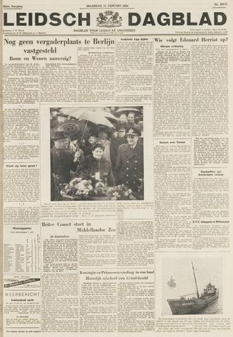 Leidsch Dagblad 1954-01-11