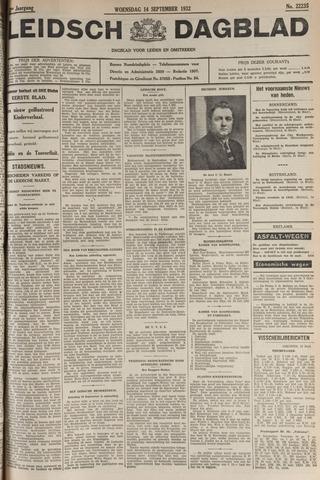 Leidsch Dagblad 1932-09-14