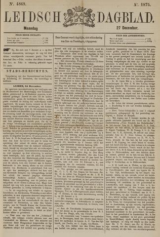 Leidsch Dagblad 1875-12-27
