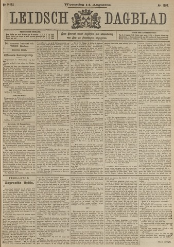 Leidsch Dagblad 1907-08-14