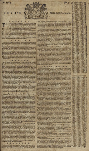 Leydse Courant 1765-10-07