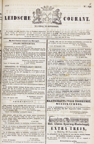 Leydse Courant 1879-09-22