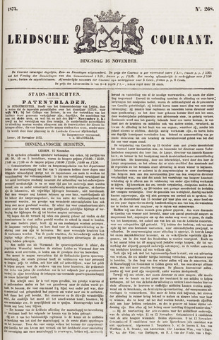 Leydse Courant 1875-11-16