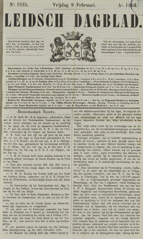 Leidsch Dagblad 1866-02-09