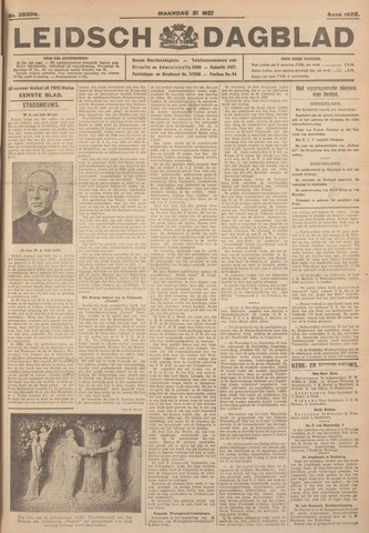Leidsch Dagblad 1926-05-31