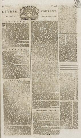 Leydse Courant 1815-10-02