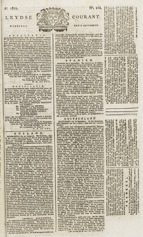 Leydse Courant 1822-09-18
