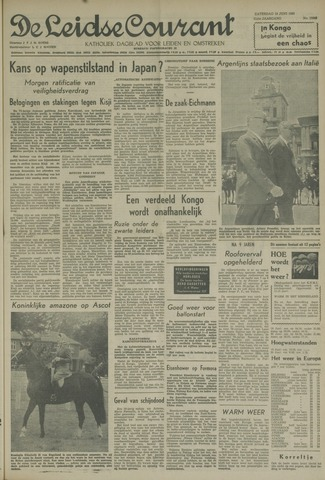Leidse Courant 1960-06-18
