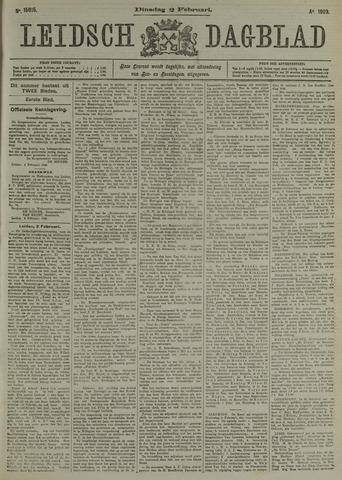 Leidsch Dagblad 1909-02-02