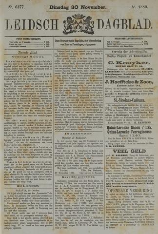 Leidsch Dagblad 1880-11-30