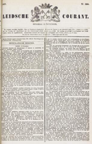 Leydse Courant 1877-11-13