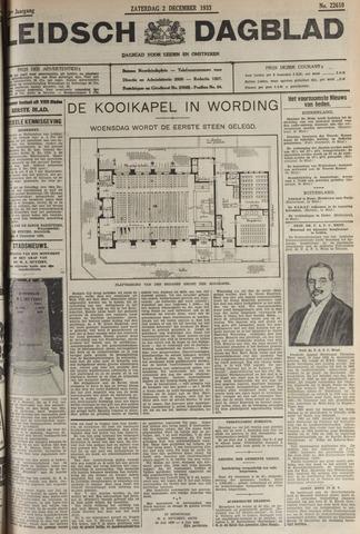 Leidsch Dagblad 1933-12-02