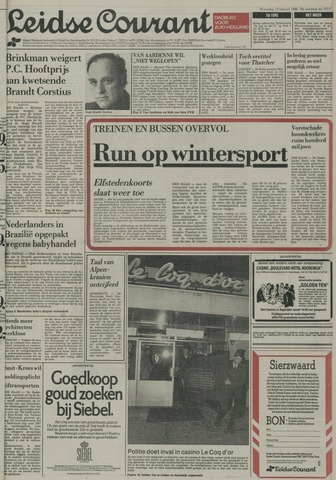 Leidse Courant 1985-02-13