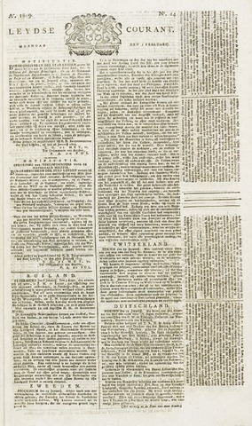 Leydse Courant 1819-02-01