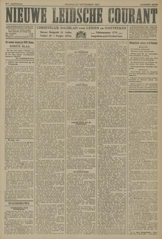 Nieuwe Leidsche Courant 1927-09-23