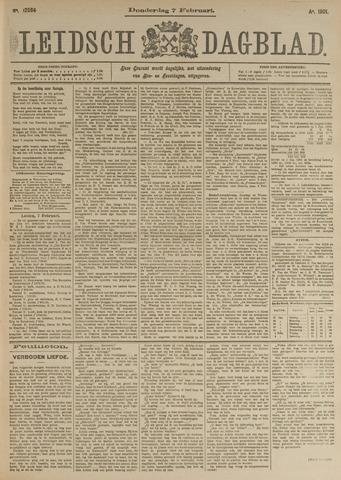 Leidsch Dagblad 1901-02-07