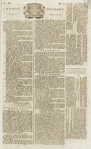 Leydse Courant 1817-07-04