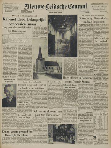 Nieuwe Leidsche Courant 1957-03-06
