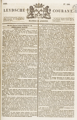 Leydse Courant 1860-08-20