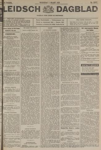 Leidsch Dagblad 1933-03-01