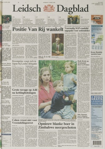 Leidsch Dagblad 2000-04-18