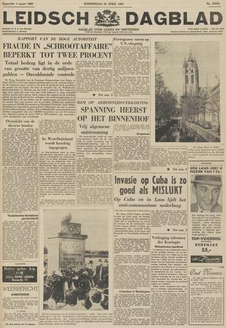 Leidsch Dagblad 1961-04-20